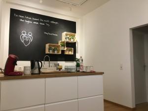 Eingang und Wartebereich der Ernährungsberatung
